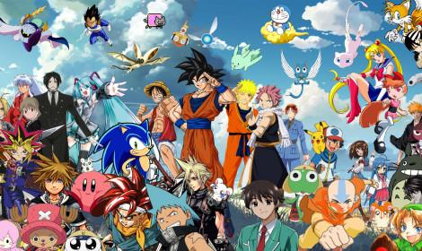 """Anime Lược Thư Sử Ký: Phần 1 - """"Bình minh hoạt hoạ xứ hoa đào."""""""