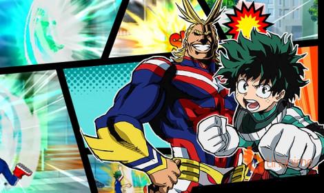 Khởi động với Boku no Hero Academia season 2 vào ngày 25/3