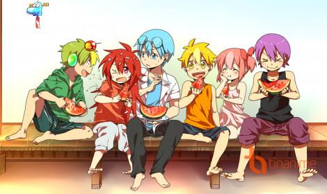 Hoạt hình kinh dị Happy Tree Friends phong cách anime