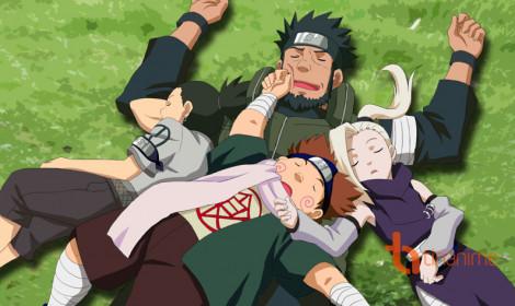 """Nhạc """"độc quyền"""" của các nhân vật trong Naruto - Đội 8, 9, 10"""