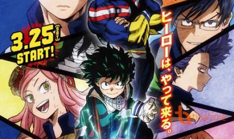 """Boku no Hero Academia season 2 - Liên tục """"khoe"""" dàn nhân vật"""