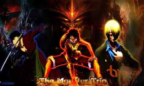 """Những """"bộ ba quái vật"""" trong One Piece!"""