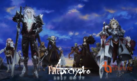 Anime Fate/Apocrypha - Cuộc Đại Chiến Chén Thánh bắt đầu