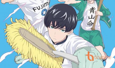 Anime Keppeki Danshi! Aoyama-kun - Thiên tài bóng đá... sợ dơ?!