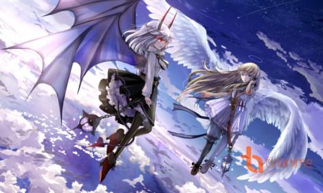 [Artwork] Thiên thần vs Ác quỷ