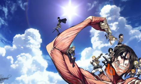 Đã mắt với bộ fanart Attack on Titan