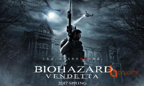 Anime 3D Resident Evil: Vendetta hoành tráng ngay tại Việt Nam!
