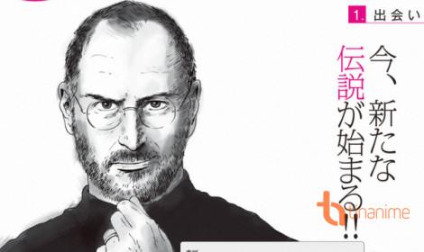 Cuộc đời nhà cách mạng công nghệ Steve Jobs trong manga!