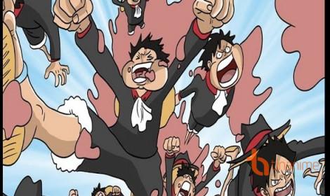 """[Spoiler] Luffy cũng sở hữu """"phân thân chi thuật"""" của Naruto?"""