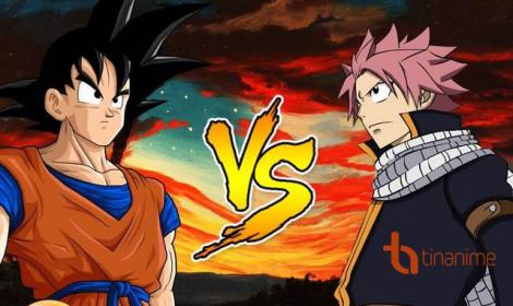 Dragon Ball giao lưu với Fairy Tail