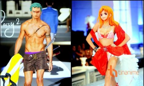 Dàn nhân vật One Piece biểu diễn thời trang!
