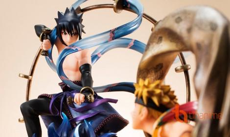Figure Naruto và Sasuke phiên bản Phong Thần - Lôi Thần cực chất