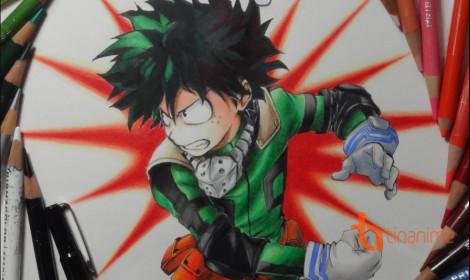 Vẽ Boku no Hero Academia thần tốc!