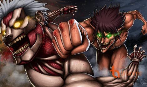 Attack on Titan tập 32: Đại Huyết Chiến!