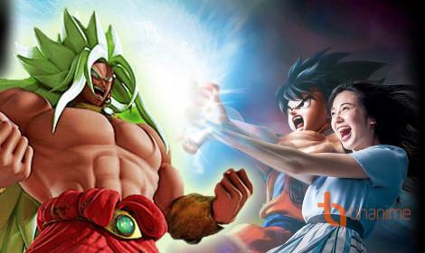 Broly hoá Super Saiyan God??