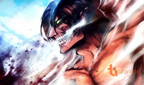 Top 10 anime tuần 7 - Attack on Titan tụt dốc không phanh!