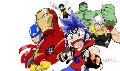 Marvel Future Avengers - Siêu nhân Marvel đã xuất hiện trên anime