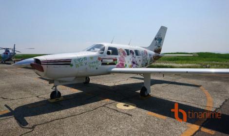 """Eromanga Sensei """"sở hữu"""" cho riêng mình một chiếc """"máy bay rực rỡ sắc màu"""""""