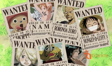 Mức truy nã trong One Piece và những kỷ lục!