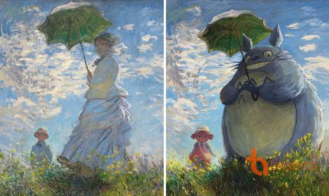 Phiên bản hoạt hình của các bức tranh cổ điển