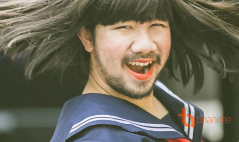 Chàng béo rậm lông cosplay nữ sinh Nhật Bản - Xem chục lần vẫn cười sặc cơm!