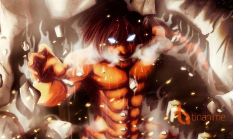 Top 10 anime tuần 9 - Attack on Titan theo đà xuống dốc!