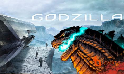 Lộ diện hình ảnh đầu tiên về Godzilla trong anime!