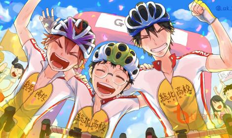 """""""Phát sốt"""" với Yowamushi Pedal season 4"""