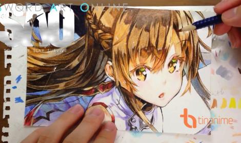 Tài nghệ vẽ tranh cực đỉnh của fan anime
