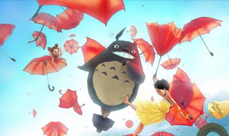 [Fanart] Trở về tuổi thơ với Totoro