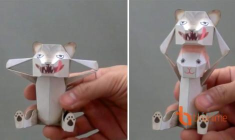 Sướng mắt với loạt đồ chơi giấy đầy sáng tạo