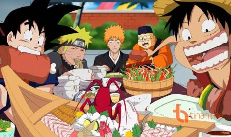 Thèm nhỏ dãi với các món ăn trong anime