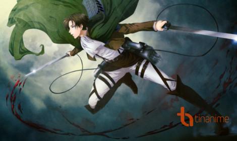 Tác giả vẽ Levi trong sự kiện Anime Expo 2017!