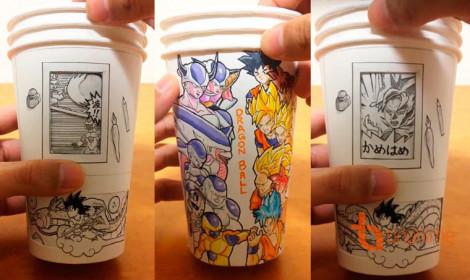 Manga trong cốc giấy