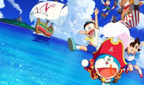 Movie Doraemon thứ 38 - Cuộc phiêu lưu đến Đảo giấu vàng