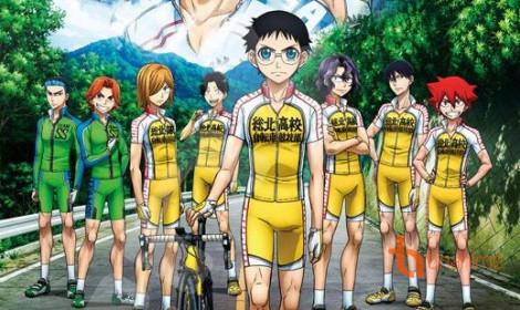 Yowamushi Pedal season 4 đã ra thông báo chính thức