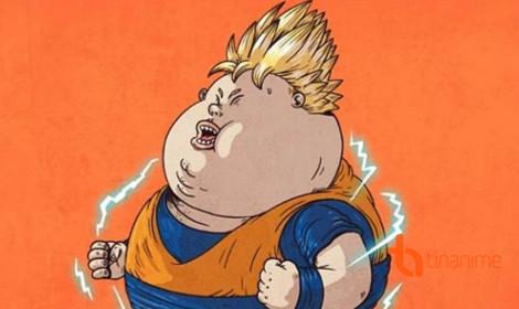 Khi các nhân vật nổi tiếng bị... béo phì?!
