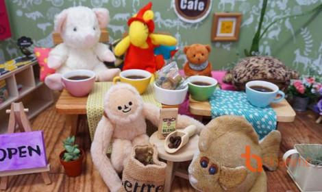 Quán cafe dành riêng cho thú bông - Chỉ có tại Nhật Bản