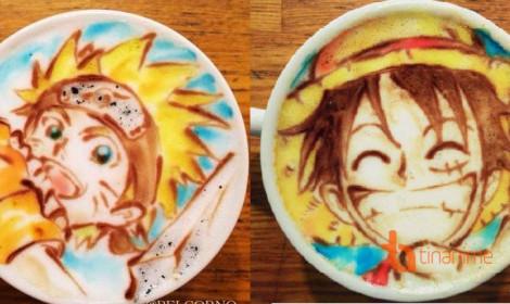 Tuyệt tác trên cốc cà phê