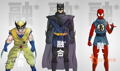 Khi các siêu anh hùng kết hợp với Dragon Ball