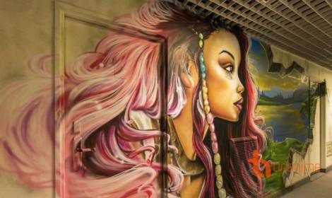 Kiệt tác Grafiti của 100 nghệ sĩ!