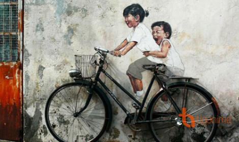 Nghệ thuật tranh đường phố (Phần 2)