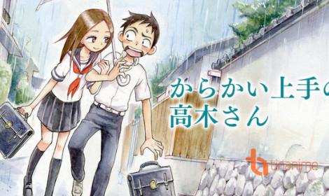 Karakai Jozu no Takagi-san sẽ lên sóng vào năm 2018!