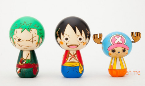 Đội hải tặc One Piece hóa búp bê gỗ gieo an lành!