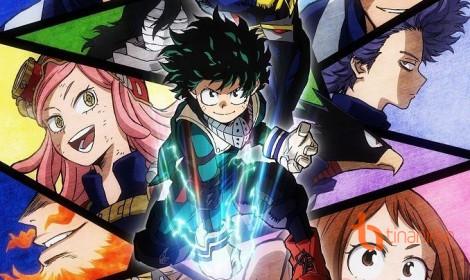 Boku no Hero Academia lộ diện dàn nhân vật chưa từng xuất hiện trong manga