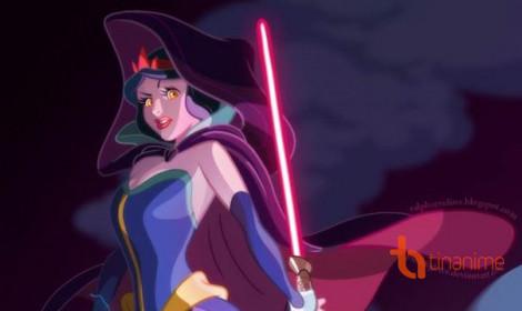 Công chúa Disney phiên bản Star Wars