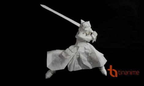 Origami tạo hình nhân vật anime cực chất