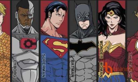 """Movie mới toanh! Siêu anh hùng DC """"đi lạc"""" trong thế giới anime"""