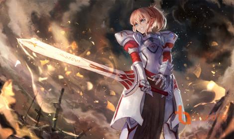 [Fanart] Modred - Red Saber cuồng chiến