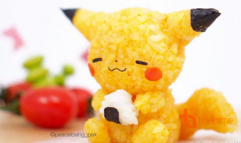 """Cơm nắm Pokémon dễ thương """"khó đỡ"""""""